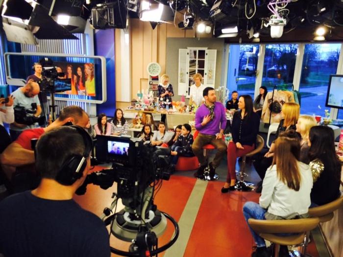 Deti z Hnúšte v relácii Teleráno na TV Markíza