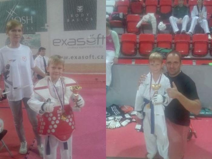 Podpora športovca D. Frgolca (Taekwondo)